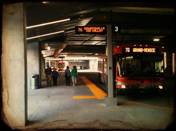 Este es el nivel inferior de la nueva estación. Foto Steve Hymon/Metro