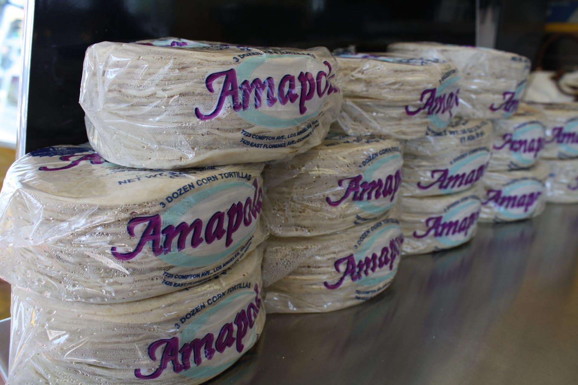 Las tortillas Amapola siguen conquistando la preferencia de los clientes. (Foto de Agustín Durán/El Pasajero).